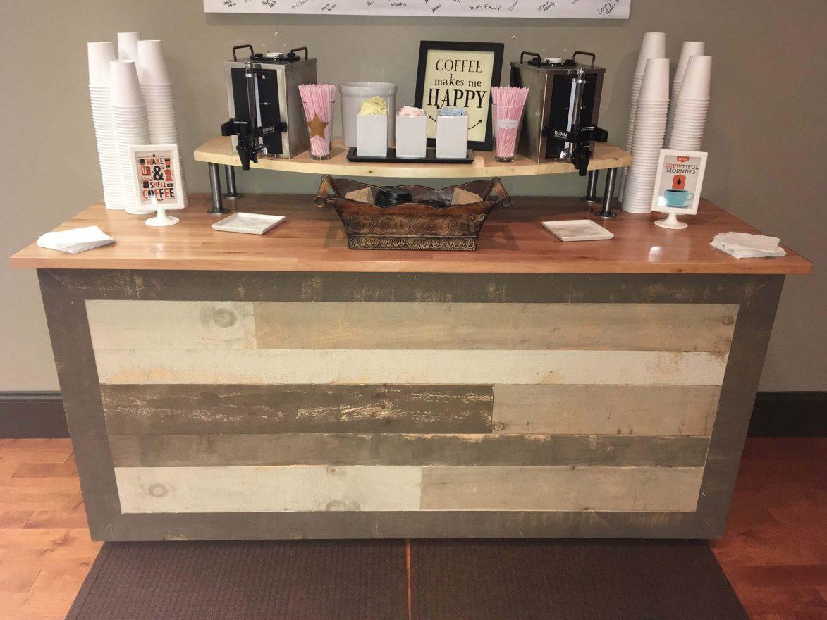 Custom Coffee Bar Coyote Creek