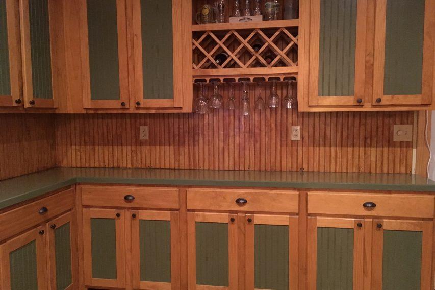 Modern, Rustic Cabinets
